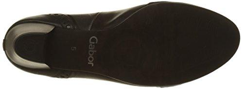 Black Black Comfort Closed Heels Women's 57 Basic Steel Schwarz 57 Toe Gabor nxqpw61040