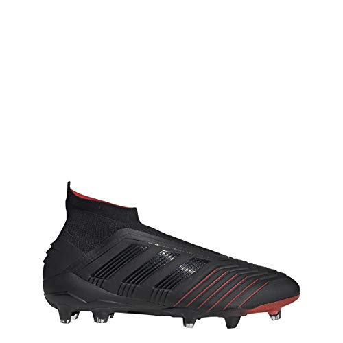 adidas Predator 19+ FG Cleat - Men's Soccer Core Black/Action Red