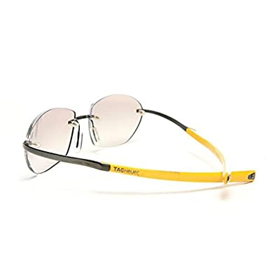 a12d5e7b8d17 Tag Heuer Eyeglasses ELEMENT Limited Edition 0303 (gunmetal yellow   light  tinted UV gradient lens