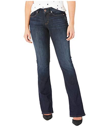 Silver Jeans Co. Women's Suki Curvy Fit Mid Rise Slim Bootcut, Classic Dark Wash, 27Wx 33L ()