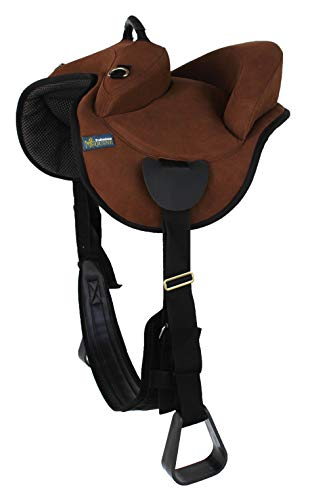 Professional Equine Horse Western Youth Bareback Neoprene Adjustable Trail Saddle Pad Brown 39190BR