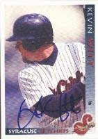 Kevin Witt Syracuse Skychiefs - Blue Jays Affiliate 1998 Grandstand Autographed Card - Minor League Card. This item comes with a certificate of authenticity from Autograph-Sports. Autographed