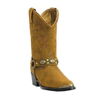12.5 Children's Little Concho Distressed Brown Western Boot (Laredo Concho Harness Boots compare prices)