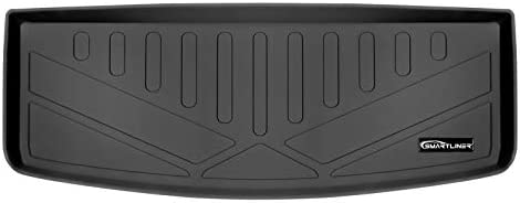 SMARTLINER Cargo Trunk Liner Floor Mat Behind 3rd Row Seat Black for 2017-2021 GMC Acadia with 3rd Row Seats – No All Terrain