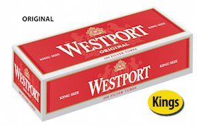 Westport Original King Size Cigarette Tubes (10 - Outlets Westport