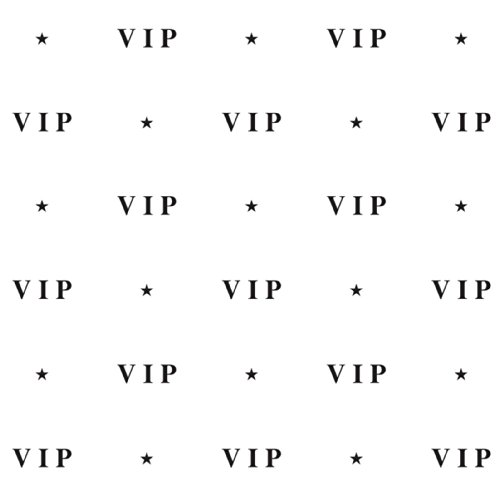 VIP Backdrop Party Accessory (1 count) (Celebrity Quality Costumes)