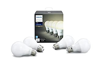 Hue White A19 4 Pack (Compatible with Amazon Alexa, Apple Home Kit and Google Assistant) (B075JKW8DZ) | Amazon Products
