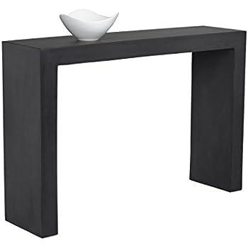 Amazon Com Sunpan Modern Nomad Console Table Kitchen