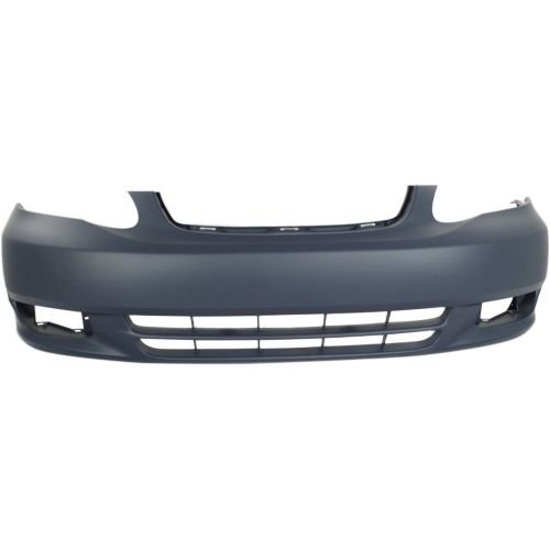 Perfect Fit Group T010317P - Corolla Front Bumper Cover, Primed, W/O Spoiler Hole, Ce/ Le Models
