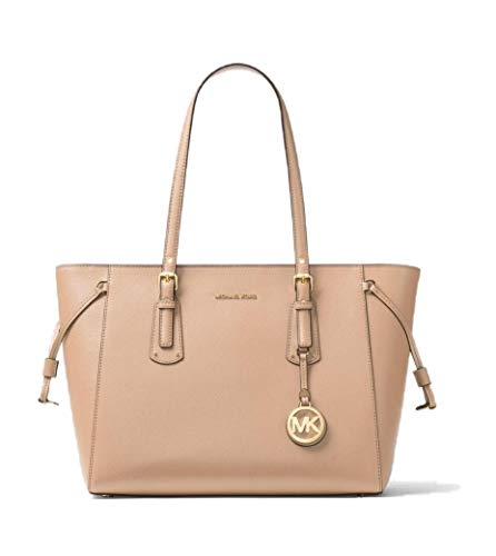 MICHAEL Michael Kors Voyager Medium Multifunction Top-Zip Tote - Shoulder Bag Top Zip Suede