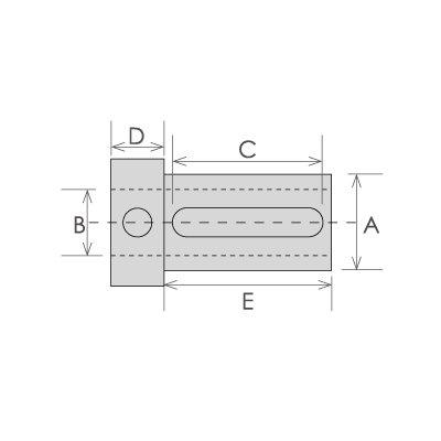 HHIP 3900-1921 Z Type Tool Holder Bushing, 1'' OD, 1/4'' ID