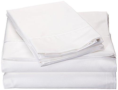 TEMPUR-Pima Cotton White Sheet Set, Queen