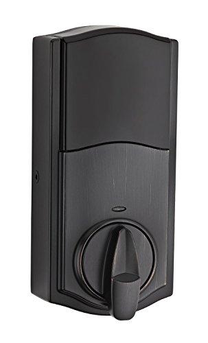 Kwikset 914 Z-Wave SmartCode Electronic UL Deadbolt, Works with Amazon Alexa via SmartThings, Wink, or Iris featuring SmartKey in Venetian Bronze by Kwikset (Image #3)