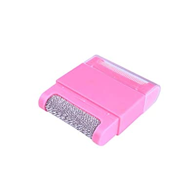 JonerytimeBaby Toy Lint Clothes Sweater Shaver Fluff Fuzz Fabrics Portable Remover Pill Handheld (Pink): Clothing