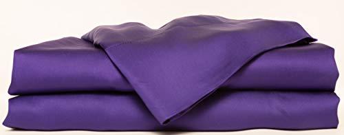 Hotel Sheets Direct Bamboo Bed Sheet Set 100% Viscose from Bamboo Sheet Set (King, Purple)