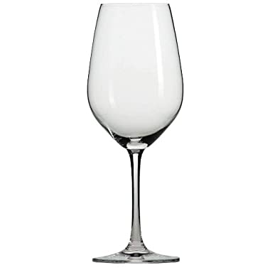 Schott Zwiesel Tritan Crystal Glass Stemware Forte Collection Burgundy/Light Red & White, 13.6-Ounce, Set of 6