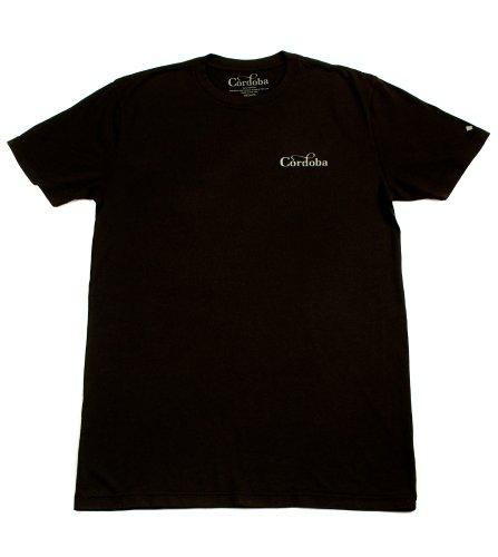 Cordoba Black Soundhole T-Shirt - Large