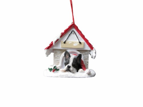Ornament Terrier Christmas Boston - Boston Terrier Ornament A Great Gift For Boston Terrier Owners Hand Painted and Easily Personalized
