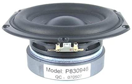 Tymphany Peerless 4 Ohm 830946 6-1/2 inch Paper Cone Woofer