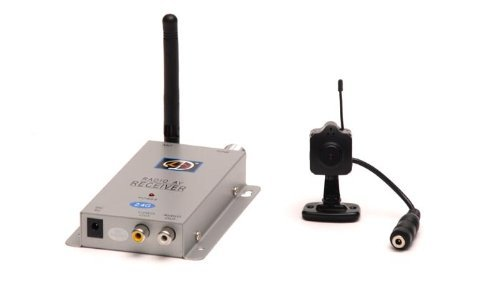 Generic Mini Wireless Color Camera with Microphone without - Wireless Surveillance Microphone