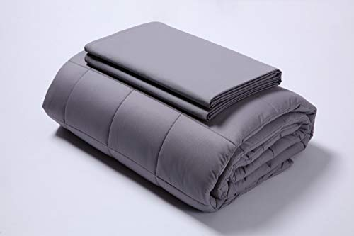 - Gnight Weighted Blanket (Grey, 80