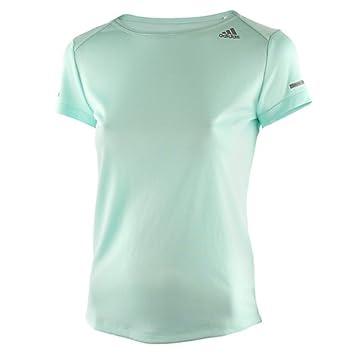 adidas Run Tee W T- T-Shirt de Running à Manches Courtes Femme ... 78508236770