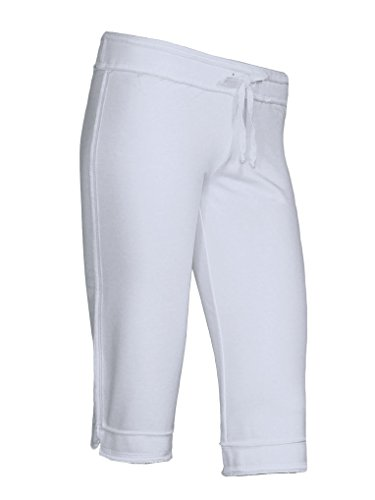 Kavio! Junior Raw Edge Capri Pant White S ()