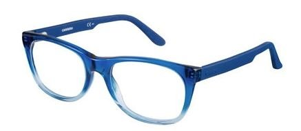 Carrera 6652 Eyeglass Frames CA6652-0TPL-5318 - Shaded Blue Frame, Lens Diameter 53mm, - Sunglass Frames Carrera