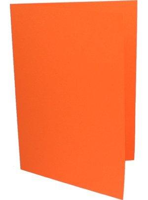 90 Faltkarten DIN B6 Orange B003KVW5O0 | Adoptieren
