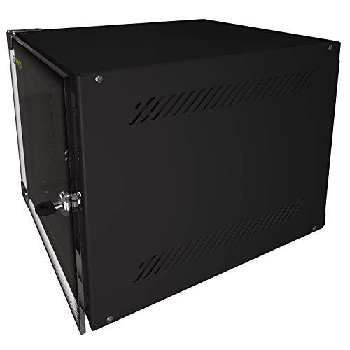 Portable Network Cabinet Floor/Wall Mount Inch CCTV Media Networking Equipment Server Door Secured Lock