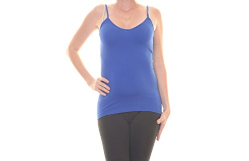 Energie Womens Juniors Stretch Adjustable Straps Camisole Blue S
