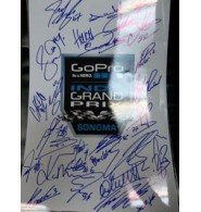 Signed Indy Grand Prix At Sonoma (2012) 12x18 Photo By The Entire field of Indy Car Racers 25 Signatures total autographed from Powers Collectibles