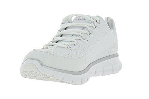 pantofole Generation nbsp;Next Skechers donna Appeal da bianco pelle Flex qtZwBgwI