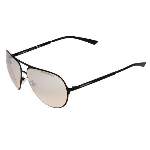 EMPORIO ARMANI Men's EA9809/SPDE Black - Armani Sunglasses Uk