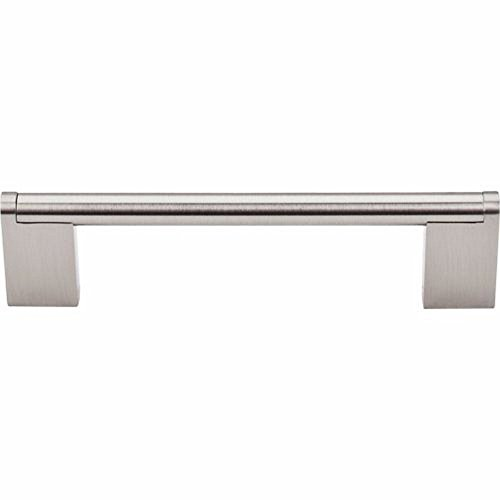 "Top Knobs M1042 Bar Pulls Collection 5-1/16"" Princetonian Bar Pull, Brushed Satin Nickel"