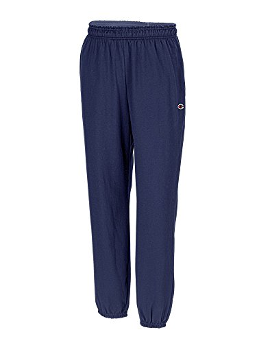 Champion Big and Tall Jersey Knit Pant (Navy L-T)