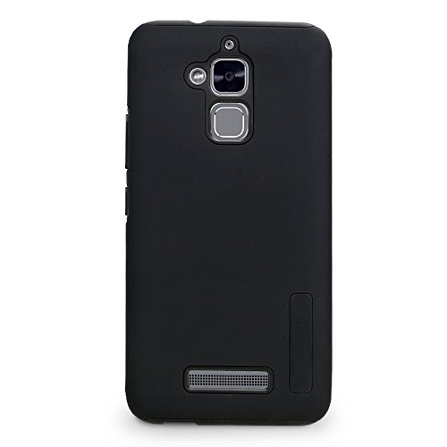 Shockproof Armor TPU/PC Case for Asus Zenfone Max (Black) - 2