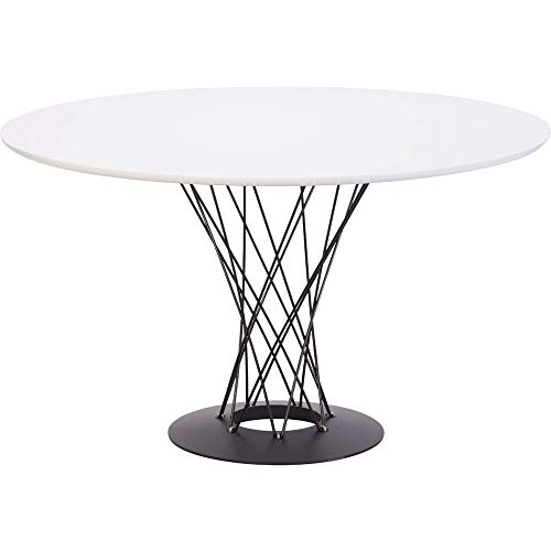 Zuo Spiral Dining Table White