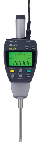 Mitutoyo 543-558A Absolute LCD Digimatic Indicator ID-F, with Back-Lit LCD, #4-48 UNF Thread, 0.375