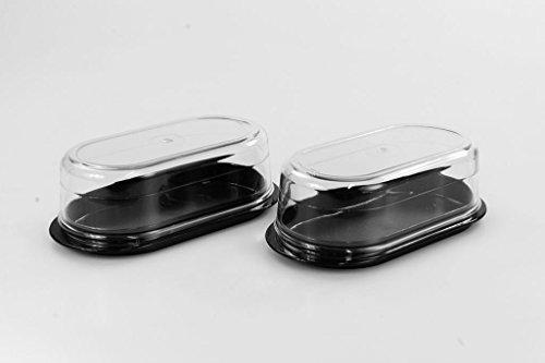 Kühlschrank Butterdose : Tupperware exclusiv butterperle schwarz butterdose butterbox