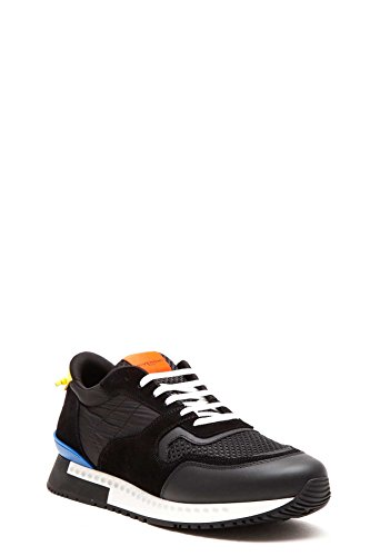 GIVENCHY-MENS-BM08217980001-BLACK-FABRIC-SNEAKERS