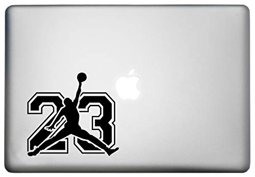 All Star NBA Basketball Silhouette Players Sticker Vinyl Decor Decal is a Basketball Player Men Sports NBA Sticker Vinyl Decal. Laptop Sizes 11, 12, 13 and 15 inch. Many Colors-Black