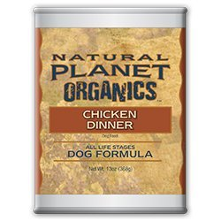 Natural Planet Organics Chicken All Life Stages Canned Dog Food (1 Can)