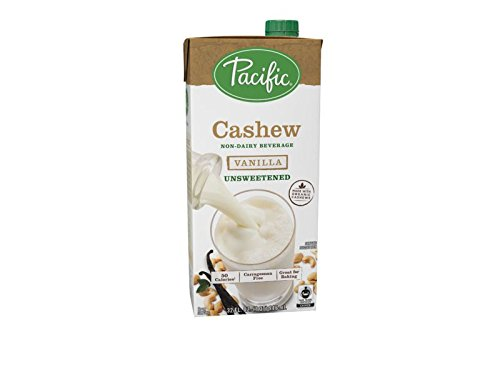 Pacific Foods Fair Trade Made With Organic Cashew, Unsweetened Vanilla, 32 oz by Pacific Foods