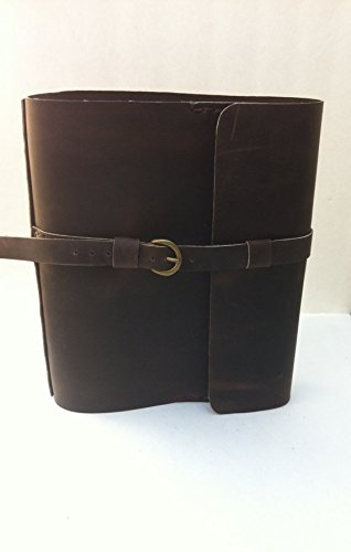 1-1/2'' Ring Binder Case, Documents Folder Handmade Leather Diary, Journal Covers, Notebook by NadiraBag