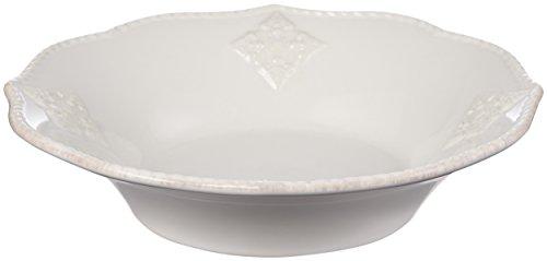 Lenox French Perle Bead Individual Pasta Bowl, White