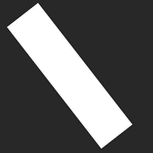 Sandpapier Transparentes Griptape Skate Multifunktions Verdickte Aufkleber Longboard Scooter Praktisches PVC Zubehör Kleber Double CKer (84 x 24 cm), nicht null, Wie abgebildet, 126x26.5cm