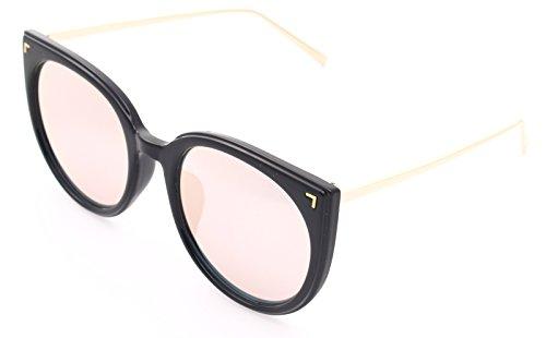 Pink ENCACC Frame 80225 Black adulte Décontracté Mirrored Lens mixte RqwzZqXxrF