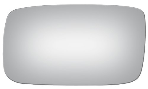 Flat Driver Left Side Replacement Mirror Glass for 1990-1993 Volvo 240-260