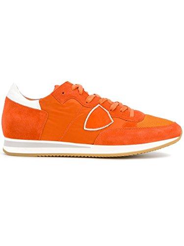Model Philippe Homme Orange Trluw033 Suède Baskets fHdzqH